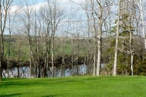 10 acre waterfront property, building lot for cottage