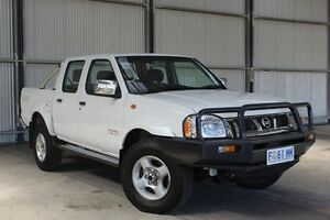 2006 Nissan Navara D22 S2 ST-R White 5 Speed Manual Utility Invermay Launceston Area Preview