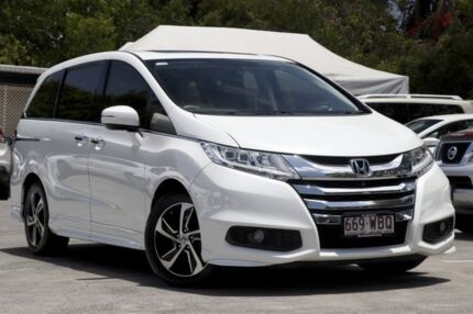 2015 Honda Odyssey RC MY16 VTi-L White 7 Speed Constant Variable Wagon Kedron Brisbane North East Preview