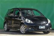 2007 Honda Jazz GD VTi Black 7 Speed Constant Variable Hatchback Ringwood East Maroondah Area Preview