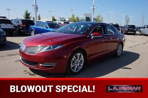 2013 Lincoln MKZ 3.7L ALL WHEEL DRIVE Navigation (GPS),  Leather