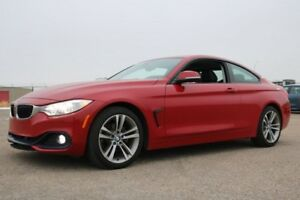 2014 BMW 4 Series XDRIVE 428X1 Navigation (GPS),  Leather,  Sunr