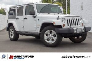 2013 Jeep Wrangler Unlimited Sahara LOCAL CAR, NO ACCIDENTS, LOW