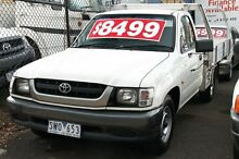2004 Toyota Hilux RZN149R White 5 Speed Manual Briar Hill Banyule Area Preview