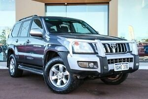 2008 Toyota Landcruiser Prado KDJ120R GXL Grey 5 Speed Automatic Wagon Maddington Gosnells Area Preview