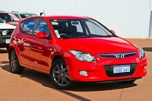 2010 Hyundai i30 FD MY10 SX Red 4 Speed Automatic Hatchback East Rockingham Rockingham Area Preview