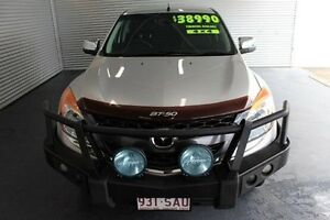 2011 Mazda BT-50 UP0YF1 GT Silver 6 Speed Sports Automatic Utility Parramatta Park Cairns City Preview