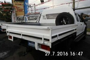 2012 Toyota Hilux White Manual Cab Chassis Fawkner Moreland Area Preview