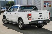 2017 Ford Ranger PX MkII Wildtrak Double Cab White 6 Speed Sports Automatic Utility Rockingham Rockingham Area Preview