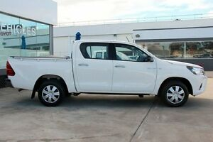2015 Toyota Hilux GGN15R MY14 SR Glacier White 5 Speed Automatic Dual Cab Pick-up Old Guildford Fairfield Area Preview