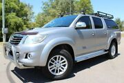 2014 Toyota Hilux KUN26R MY14 SR5 Double Cab Silver 5 Speed Automatic Utility East Maitland Maitland Area Preview