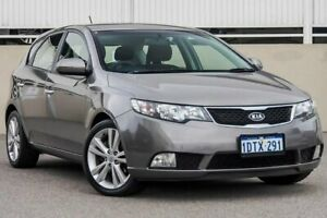2011 Kia Cerato TD MY12 SLi Grey 6 Speed Automatic Hatchback Cannington Canning Area Preview