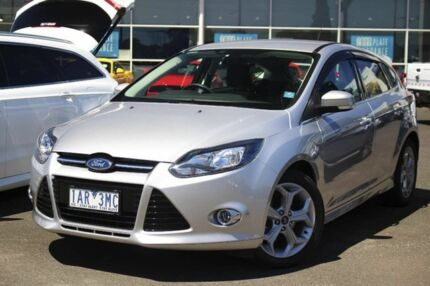 2013 Ford Focus LW MKII Sport Silver 5 Speed Manual Hatchback Seaford Frankston Area Preview