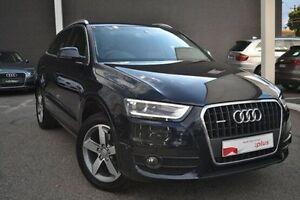 2014 Audi Q3 8U MY14 TDI S tronic quattro Blue 7 Speed Sports Automatic Dual Clutch Wagon Burwood Whitehorse Area Preview