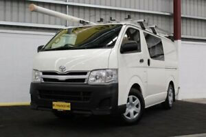 2014 Toyota HiAce KDH201R MY14 LWB White 5 Speed Manual Van Canning Vale Canning Area Preview