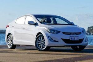 2014 Hyundai Elantra MD3 SE White Sports Automatic Sedan Bunbury Bunbury Area Preview
