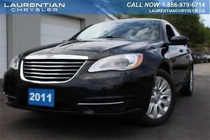 2011 Chrysler 200 LX-FULLY LOADED+CRUISE CONTROL+CLOTH SEATS