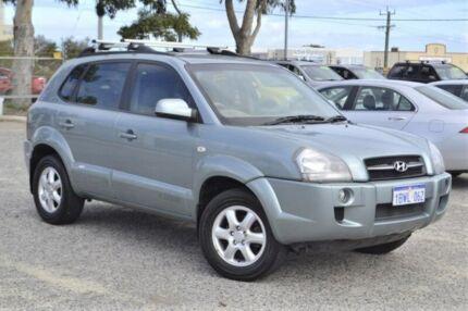 2004 Hyundai Tucson JM Elite Blue 4 Speed Sports Automatic Wagon Wangara Wanneroo Area Preview