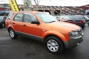 2004 Ford Territory SX TX AWD Orange 4 Speed Sports Automatic Wagon Kingsville Maribyrnong Area Preview