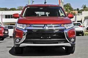 2016 Mitsubishi Outlander ZK MY16 XLS 2WD Red 6 Speed Constant Variable Wagon Wilson Canning Area Preview