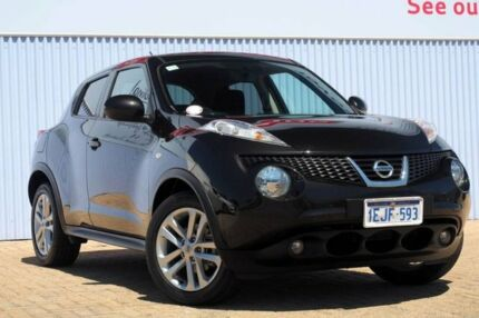 2013 Nissan Juke F15 MY14 ST 2WD Black 1 Speed Constant Variable Hatchback Morley Bayswater Area Preview