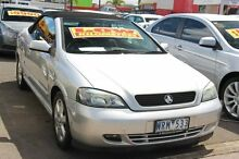 2004 Holden Astra TS MY03 Limited Edition Silver 4 Speed Automatic Convertible Heatherton Kingston Area Preview