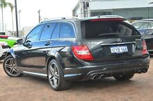 2013 Mercedes-Benz C63 W204 MY13 AMG Estate SPEEDSHIFT MCT Black 7 Speed Sports Automatic Wagon Osborne Park Stirling Area Preview