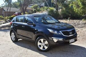 2013 Kia Sportage SL MY13 SI Black 5 Speed Manual Wagon St Marys Mitcham Area Preview