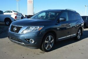 2014 Nissan Pathfinder PLATINUM 4WD NAV DVD Leather,  Heated Sea