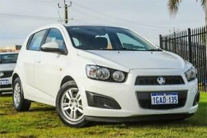 2016 Holden Barina TM MY16 CD White 6 Speed Automatic Hatchback Wangara Wanneroo Area Preview