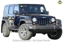 2015 Jeep Wrangler JK MY2016 Unlimited Rubicon Black 5 Speed Automatic Softtop Mount Gravatt Brisbane South East Preview
