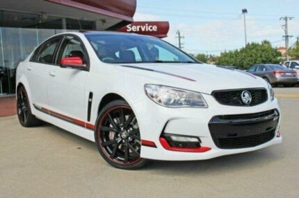 2017 Holden Commodore VF II MY17 Motorsport Edition Heron White 6 Speed Sports Automatic Sedan Victoria Park Victoria Park Area Preview