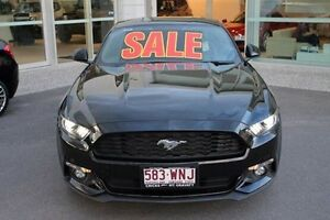 2016 Ford Mustang FM SelectShift Black 6 Speed Sports Automatic Fastback Mount Gravatt Brisbane South East Preview