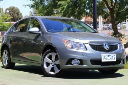 2014 Holden Cruze JH Series II MY14 Equipe Grey 6 Speed Sports Automatic Hatchback