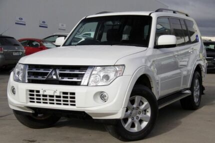 2013 Mitsubishi Pajero NW MY13 GLX-R White 5 Speed Auto Seq Sportshift Wagon Mornington Mornington Peninsula Preview
