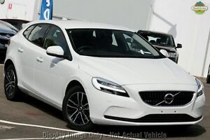2016 Volvo V40 M Series D2 Momentum Ice White 6 Speed Automatic Hatchback Mount Gravatt Brisbane South East Preview