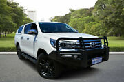 2016 Toyota Hilux GUN126R SR5 Double Cab White 6 Speed Manual Utility Kewdale Belmont Area Preview