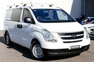2012 Hyundai iLOAD TQ2-V MY13 Crew Cab White 5 Speed Automatic Van Kings Park Blacktown Area Preview