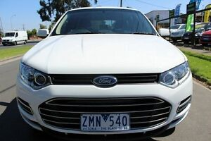 2012 Ford Territory SZ TX Seq Sport Shift White 6 Speed Sports Automatic Wagon West Footscray Maribyrnong Area Preview