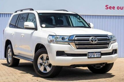 2017 Toyota Landcruiser VDJ200R GXL White 6 Speed Sports Automatic Wagon Morley Bayswater Area Preview