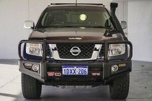 2012 Nissan Navara D40 S5 MY12 ST-X 550 Blue 7 Speed Sports Automatic Utility Bellevue Swan Area Preview