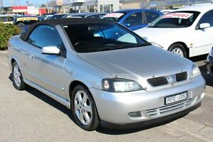 2002 Holden Astra TS Silver 4 Speed Automatic Convertible Heatherton Kingston Area Preview