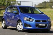 2015 Holden Barina TM MY15 CD Blue 6 Speed Automatic Hatchback West Gosford Gosford Area Preview