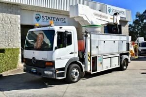 2004 Mercedes-Benz Atego 1628 White Truck East Brisbane Brisbane South East Preview