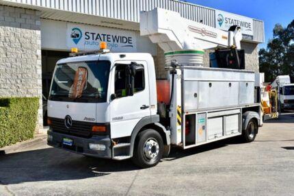 2004 Mercedes-Benz Atego 1628 White Truck East Brisbane Brisbane South East Preview
