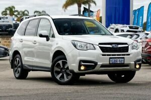 2016 Subaru Forester S4 MY16 2.0D-L CVT AWD White 7 Speed Constant Variable Wagon Greenfields Mandurah Area Preview