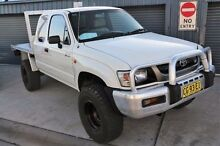 2003 Toyota Hilux  White Manual Utility Minchinbury Blacktown Area Preview