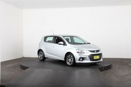 2017 Holden Barina TM MY17 LS Silver 6 Speed Automatic Hatchback Vineyard Hawkesbury Area Preview