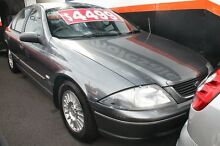 2002 Ford Falcon Auiii Futura Dark Silver 4 Speed Automatic Sedan Briar Hill Banyule Area Preview