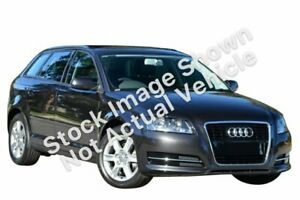2012 Audi A3 8P MY12 (N1) Attraction Sportback S Tronic Black 7 Speed Sports Automatic Dual Clutch